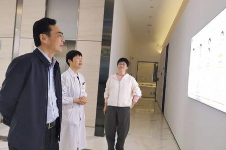 安徽省红十字会领导一行莅临沃瑞眼科医院参观指导!