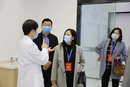 蜀山区政协领导莅临合肥沃瑞眼科医院调研指导